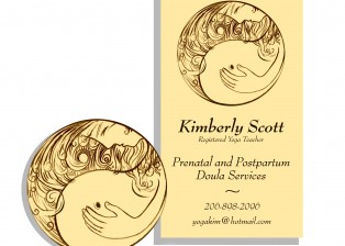Kimberly Scott business card and logo