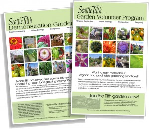 Tilth Posters - Demo and Volunteer